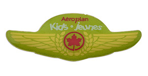 Air Canada Aeroplan Kids Jeunes Wings