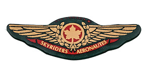 Air Canada Skyriders A�ronautes Wings