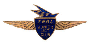 Air New Zealand TEAL Junior Jet Club Wings