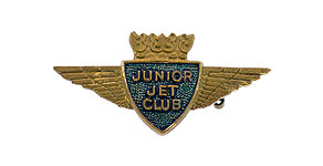 British Overseas Airways Corporation Junior Jet Club Wings