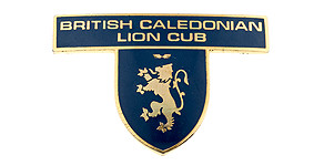British Caledonian Lion Cub Wings