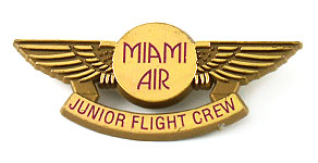 Miami Air International Junior Flight Crew Wings
