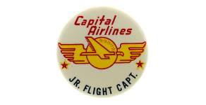 Capital Airlines Jr. Flight Capt. Wings