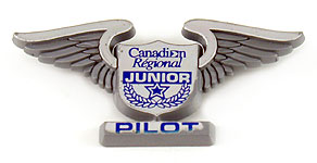 Canadian Regional Airlines Junior Pilot Wings