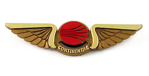 Continental Airlines Wings