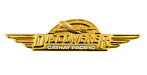 Cathay Pacific Airways Young Discoverer Wings