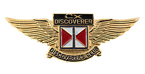 Cathay Pacific Airways CX Discoverer Discoverers Club