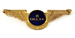 Delta Air Lines Junior Captain Wings