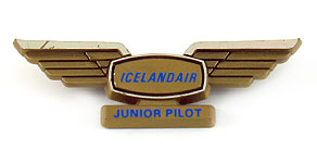 Icelandair Junior Pilot Wings