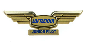 Icelandair Loftlei�ir Junior Pilot Wings