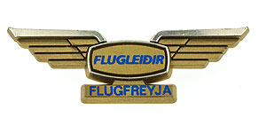 Icelandair Flugfreyja (Flight Attendant) Wings