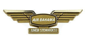International Air Bahama Junior Stewardess Wings
