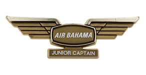 International Air Bahama Junior Captain Wings
