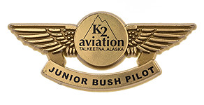 K2 Aviation Junior Bush Pilot Wings