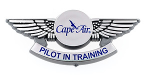 Cape Air Pilot in Training Wings