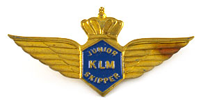 KLM Junior Skipper Wings