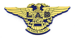 Lloyd Aéreo Boliviano Junior Pilot Wings