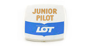 LOT Polish Airlines Junior Pilot Wings
