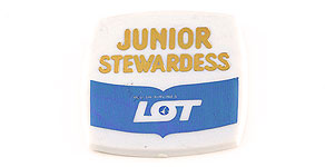 LOT Polish Airlines Junior Stewardess Wings