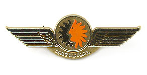 National Airlines Wings (gold)
