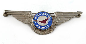 North Central Airlines Jr. Pilot Wings