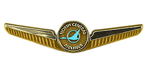 North Central Airlines Wings (Gold)