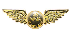 Northwest Airlines Junior Captain Wings