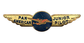 Pan American World Airways Junior Pilot Wings