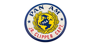 Pan American World Airways Jr. Clipper Capt. Wings