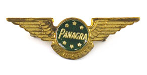 Pan American-Grace Airways Junior Hostess Wings