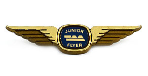 Australian Airlines Junior Flyer Wings