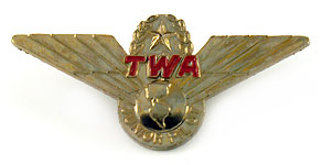 Trans World Airlines Junior Pilot Wings