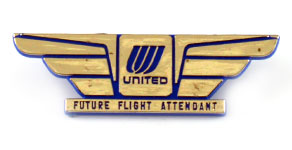 United Airlines Future Flight Attendant Wings