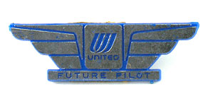 United Airlines Future Pilot Wings