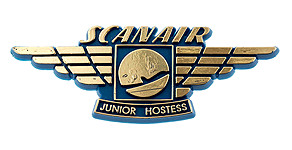 Scanair Junior Hostess Wings