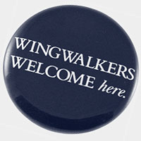 "Canadian Airlines ""Wingwalkers"" Button"